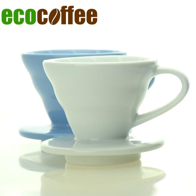 1PC Ingyenes szállítás EspressoCeramic V60 kávé csepegtető - Konyha, étkező és bár