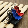 Creative Auto Part Model Racing Seat Keychain Key Ring Key Ring Car Black Blue Red