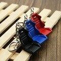 Creativo Modelo de Partes de Automóviles Asiento De Carreras Llavero Llavero Llavero Coche Negro Azul Rojo