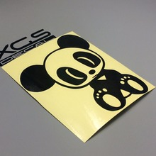 XGS DECAL car stickers jdm panda 14cm x 12cm car sticker car motorcycle reflective stickers applique