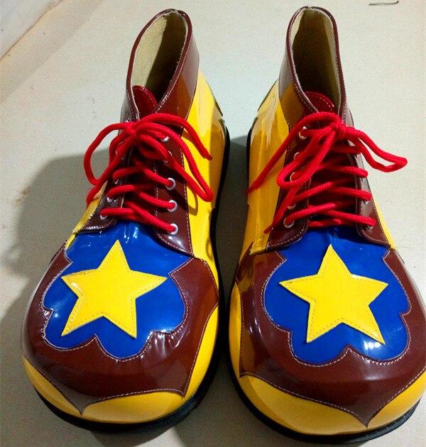 3 стиля ПУ милый клоун обувь Забавный круглый Детский рюкзачок голова обувь для взрослых Хэллоуин косплей обувь для карнавального костюма а... - 4