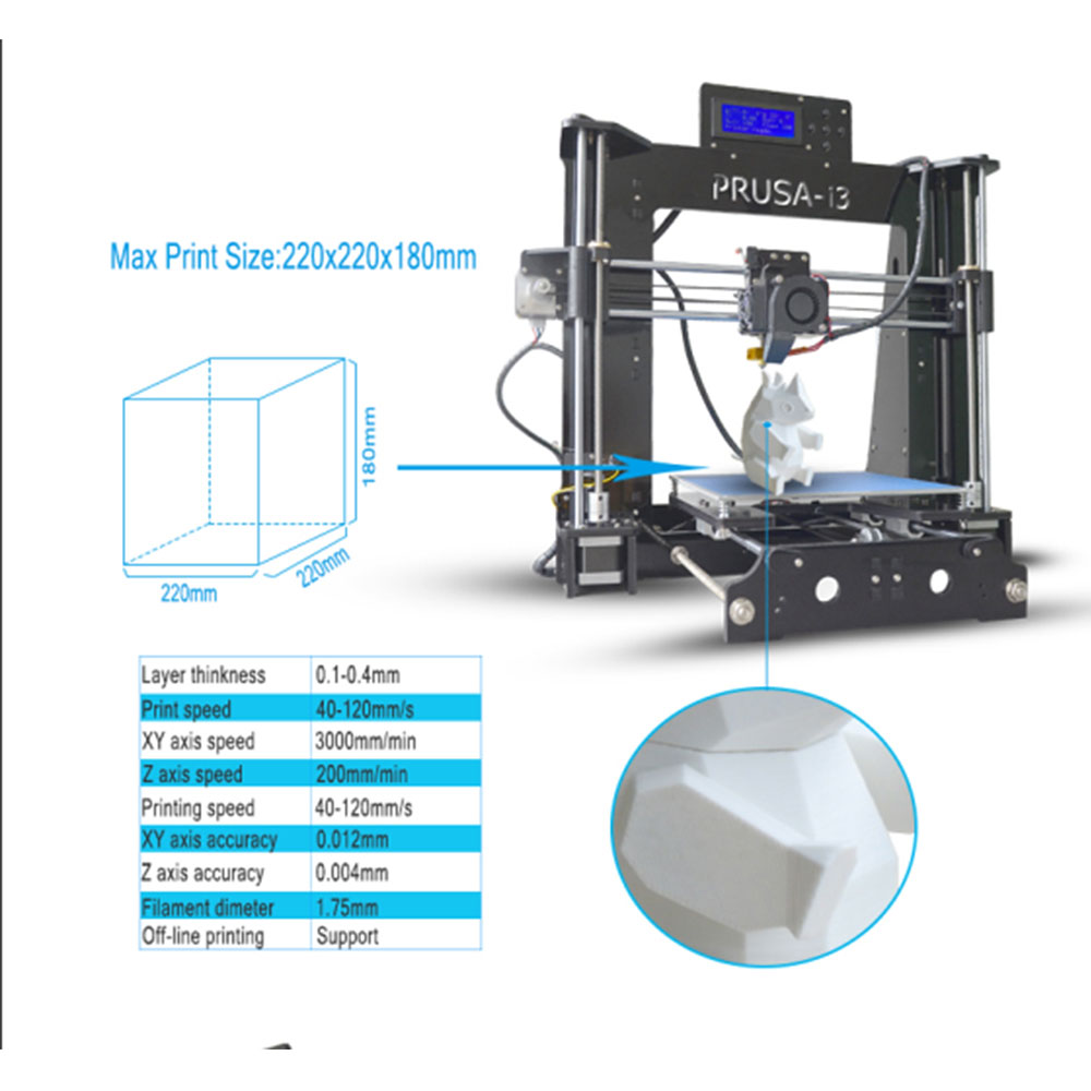 2017 Newest Tronxy 3d Printer X6D High Quality Auto Level DIY Kit Light weight Heated Bed aliexpress com buy 2017 newest tronxy 3d printer x6d high  at soozxer.org