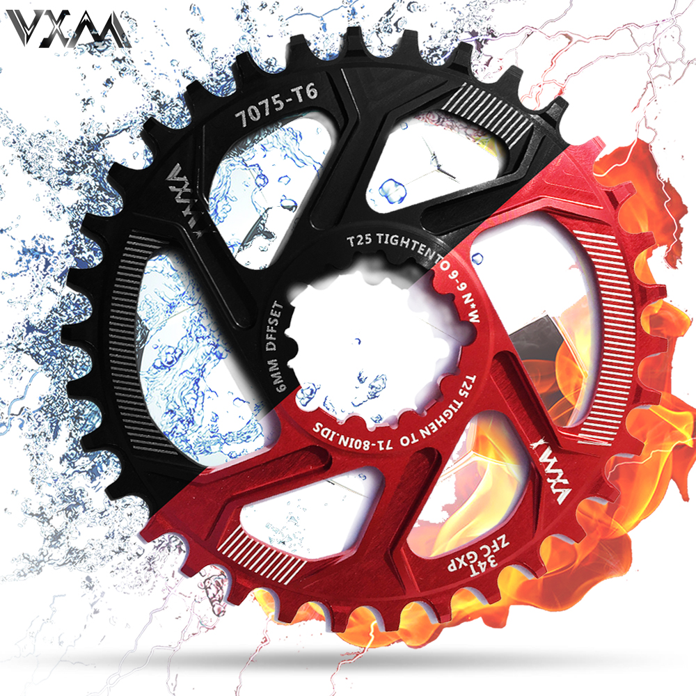 For SRAM GXP bicycle crankset Al 7075 CNC32T 34T Narrow Wide Chainring Chainwhee for Sram XX1 XO1 X1 GX XO X9 crankset mtb partsFor SRAM GXP bicycle crankset Al 7075 CNC32T 34T Narrow Wide Chainring Chainwhee for Sram XX1 XO1 X1 GX XO X9 crankset mtb parts