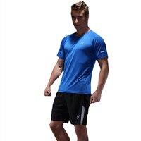 New High Elastic Running Sets Men Sport Suit Compression Underwear Fitness Jogging Sport Suit Basketball Gym