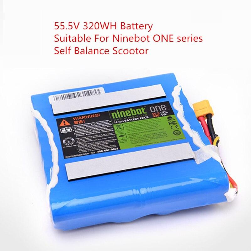 D'origine Ninebot Une Roue Batterie Kit Accessoires Pour un C + E E + Auto Équilibre Scooter Électrique Intelligent Hoverboard 55.5 v 320WH