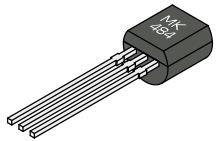 1pcs/lot MK484 Analysis Hua AM radio receivers IC TO-92 original authentic In Stock