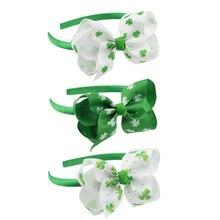 St. Patrick divertido trébol verde sombrero disfraces irlandeses decoración  de fiesta(China) f5cca74e00b