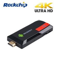 EASYTONE MK809IV Android TV Box Quad Core 2 GB/8 GB 2 GB/16 GB Anglais Russe Rétro-Éclairé clavier Android 5.1 RK3229 TV Bâton TV Box