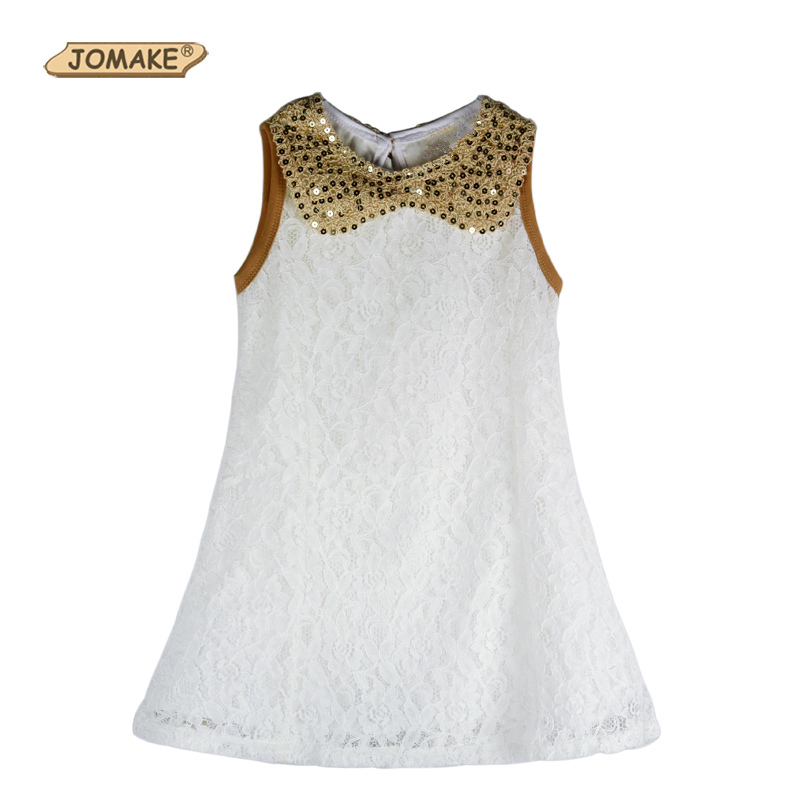 Summer 2017 Lace Girls Dress Pageant/Party Sequin Kids Dresses for Girls Clothes Children Infants Costumes Toddler Girl Clothing