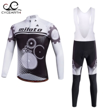 Miloto 2016 Cycling Jersey long Sleeve Bicycle Cycling Clothing Bike Wear Shirt sport Maillot Ropa Ciclismo Bib Pants Breathable