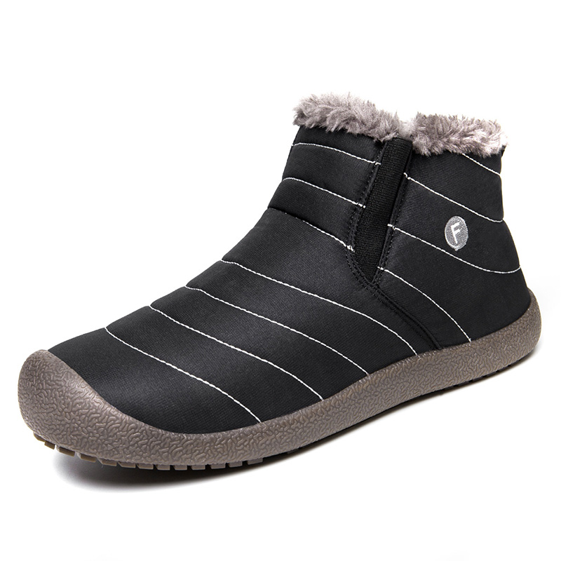 hot sale Autumn winter unisex sneakers Plush warmth sports running boots for men woman outdoor adults jogging walking snow boots