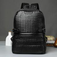 X Online 031417 hot new man leather backpack male fashion travel bag