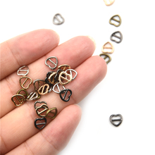 4mm 10Pcs Doll belt Heart Shape Mini buckle Doll Clothes Shoes Accessories For 1/6 BJD Blyth Azone Momoko Licca Doll Accessories