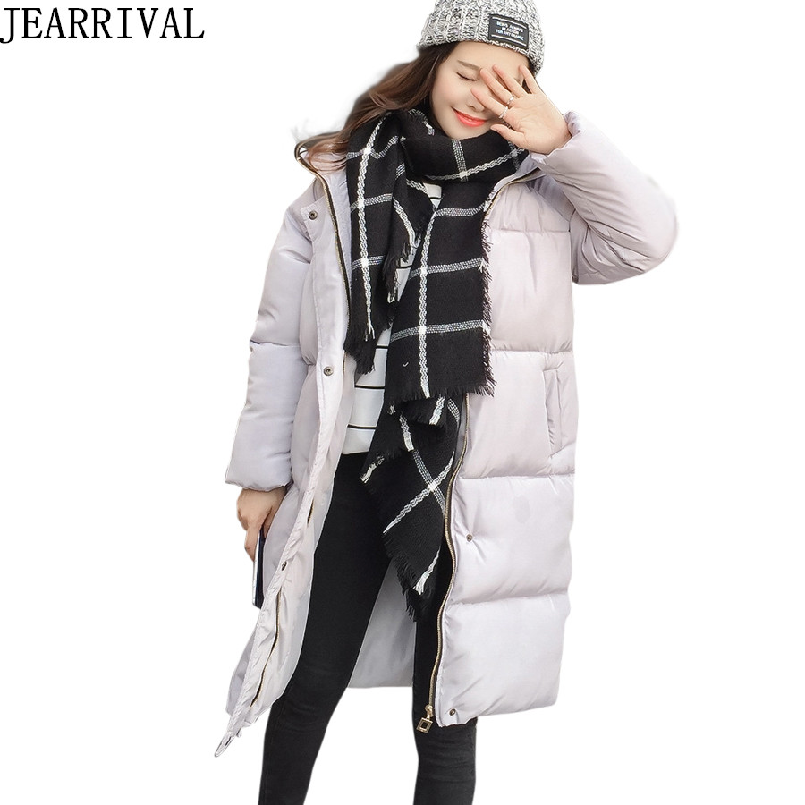 High Quality Thicken Winter Jacket Women 2017 New Fashion Hooded Parkas Cotton Padded Zipper Warm Outwear Casacos Femininos qazxsw new winter cotton coat hooded padded women parkas mujer invierno 2017 winter jacket women warm casacos femininos hb221