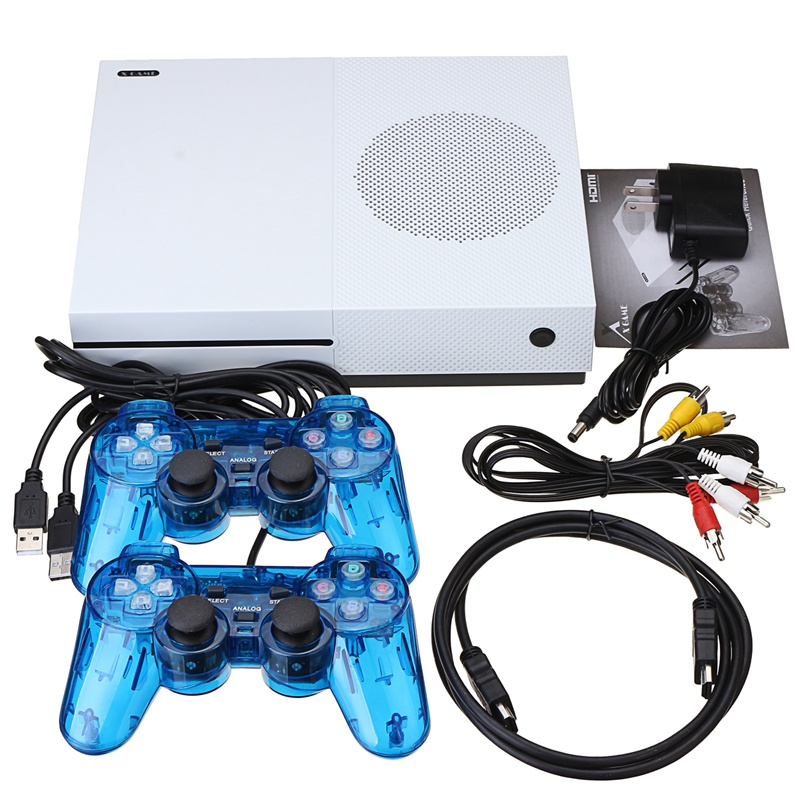Classic Game Console Built-in 600 Games TV Movie HD Output Video with 2 Gamepad Joysticks nintendo gbc game video card pokemons classic collect classic colorful edition
