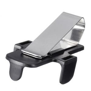 Image 2 - Car Key Garage Door Key Remoter Clamp Bracket  Car Sun Visor Clip Holder Auto Fastener Clip Universal Bracket car accessories