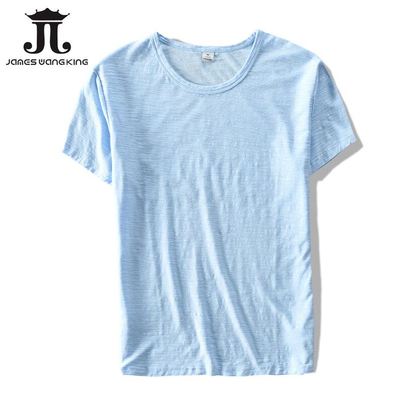 New 2018   t     shirt   men summer linen cotton short sleeve For men   T  -  shirt   Round neck breathable soft Tops & Tees - Size M-XXXL
