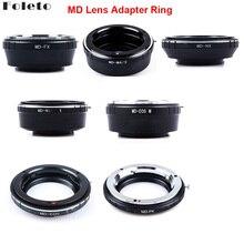 Foleto Camera Lens Adapter Ring voor Minolta MD MC Lens Voor canon nikon pentax NX Micro 4/3 M43 Mount Adapter G3 GF5 MD M43