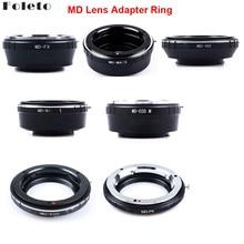 Foleto anillo adaptador de lente de cámara para Minolta MD MC lente para canon nikon pentax NX Micro 4/3 M43 adaptador de montaje G3 GF5 MD M43