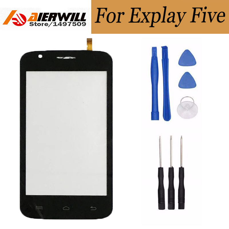 For Explay Five Touch Screen 100% New Touch Screen Panel Digitizer Glass Assembly Replacement For Explay Five phone explay для смартфона explay craft
