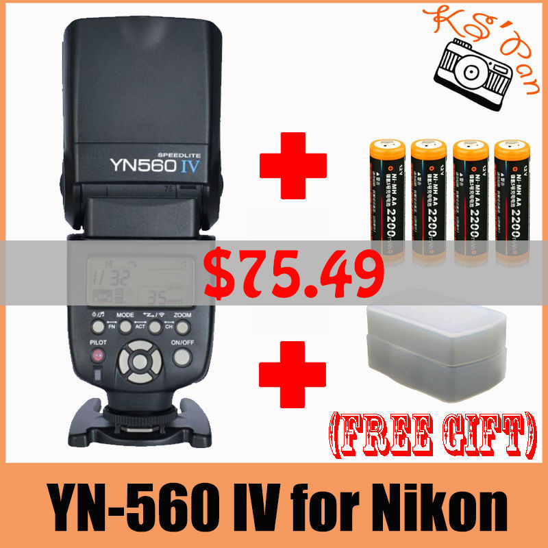 YN-560 IV for Nikon+B2