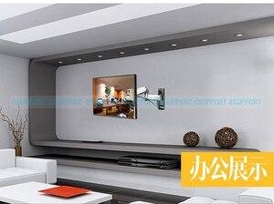 Image 5 - NB F500 sprężyna gazowa 50 60 cali telewizor LED uchwyt monitora ściennego ergonomiczny montaż ładowanie 14 23kg Max.VESA 400*400mm