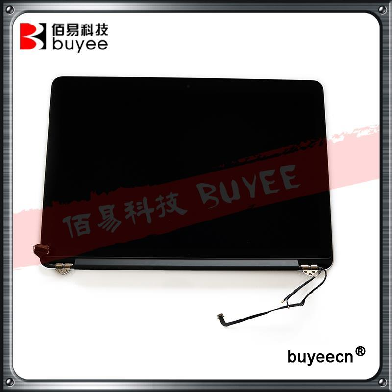 Original A1502 LCD Assembly Early 2015 For Macbook Pro Retina 13 A1502 LCD Screen Complete Assembly MF839 MF840 M841 12 pins original grey silver laptop a1706 lcd assembly 2016 year for macbook pro retina 13 inch a1706 lcd screen assembly replacement