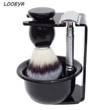 Double Edge Safety Razor Shaving Brush