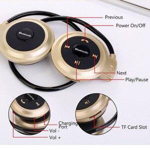 Image 4 - Aimitek Sport sans fil Bluetooth casque stéréo écouteurs Mp3 lecteur de musique casque écouteur Micro SD fente pour carte mains libres Micro
