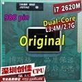 Оригинальный Intel Core Процессор I7 2620 М 4 М Кэш 2.7 ГГц Ноутбук Ноутбук Процессор Процессор Бесплатная Доставка I7-2520M