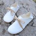 Zapatos де mujer женщины высокое качество pu кожаные плоские туфли женщин зашнуровать весной и летом квартиры леди милый ретро повседневная обувь