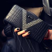 Women S Wallet Ling PU Long Hand Bag KISS Long Wallet Wallet Zero Wallet Card Package