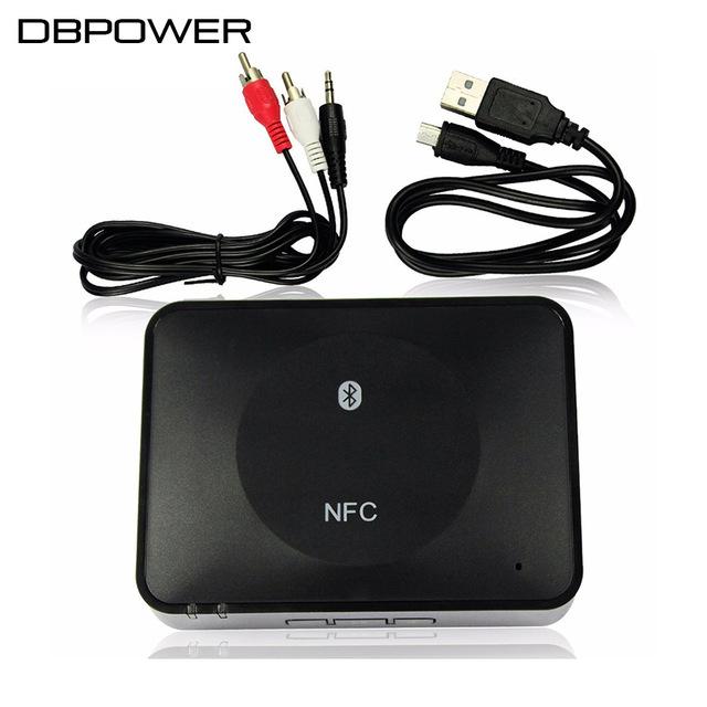 NFC do bluetooth Audio Receiver para Sound System Receptor Receptor Bluetooth Speaker Áudio Bluetooth Music Receiver