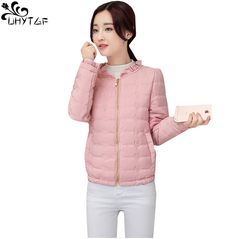 df70b6cca47e UHYTGF-Spring-down-Cotton-Woman-Coats-2018-Plus -size-Short-Slim-Warm-Cotton-Coats-Fashion-Thin.jpg