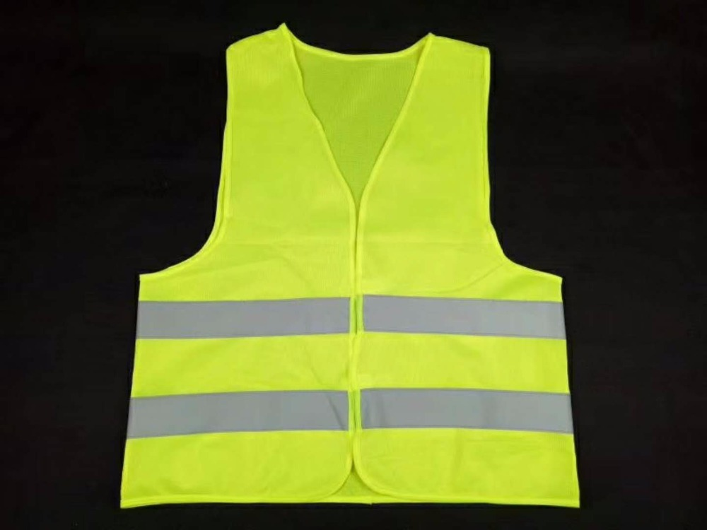 Hi-Vis Warning Reflective Safety Vest Polyester Outdoor Running Protection Safety Reflective Jacket Road Safety ClothingHi-Vis Warning Reflective Safety Vest Polyester Outdoor Running Protection Safety Reflective Jacket Road Safety Clothing