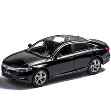 1:32 Honda Accord Car Model Alloy Simulation Car Model Sound And Light Pull Back Car Decoration Perfume Seat Children's Toy Car стоимость