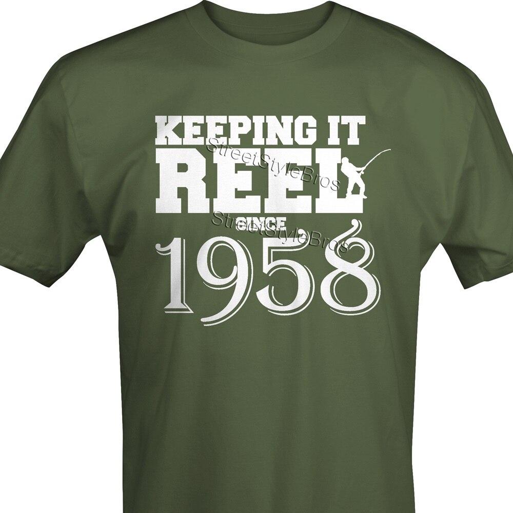 Original Since 1958 Handwriting Geburtstag Birthday Party Manner Premium T Shirt