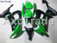 High Quality ABS Plastic Fit For Kawasaki ZX10R ZX 10R 2008 2010 08 10 Moto Custom Made Motorcycle Fairing Kit 001