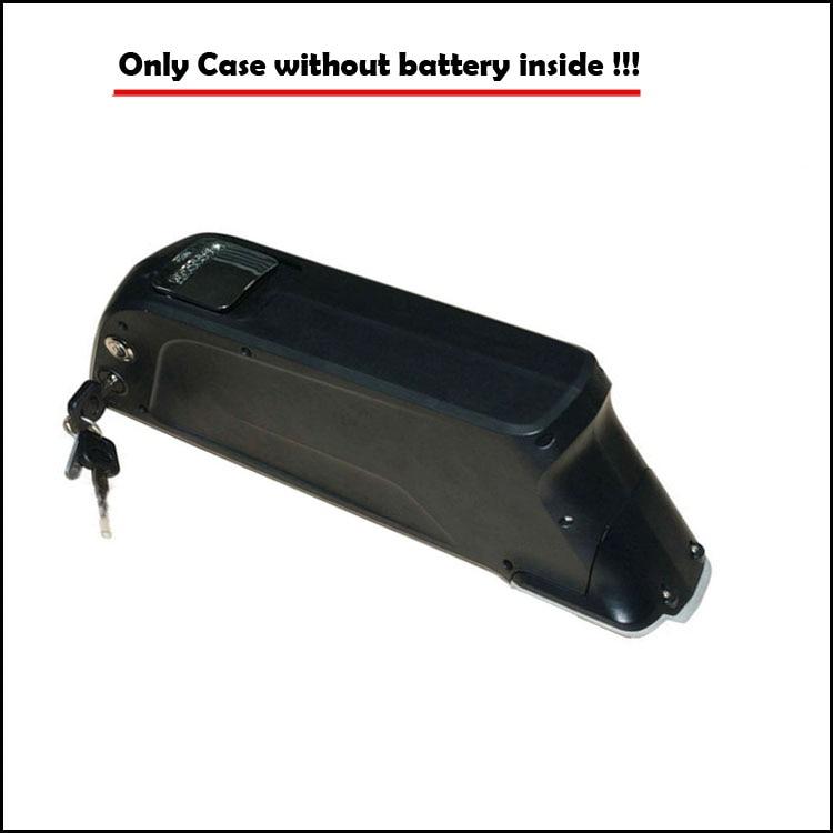 36V or 48V Electric bicycle battery case down tube bottle case 36V e bike bottle battery