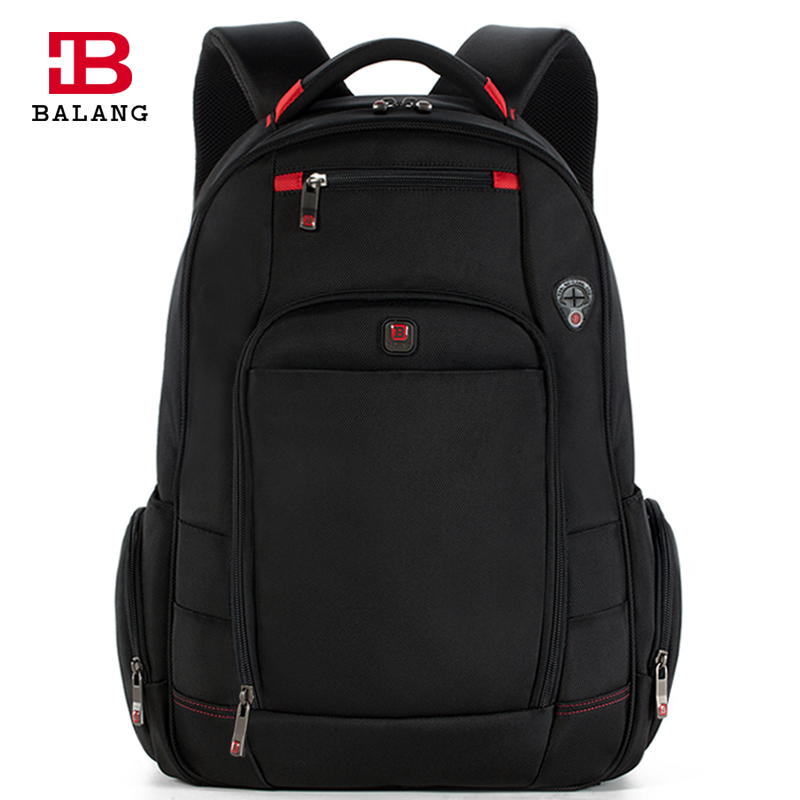 BALANG Brand Designer Men Waterproof Business Backpacks Large Travel Leisure Backpack for 17inch Laptop Backpack Luggage Bags