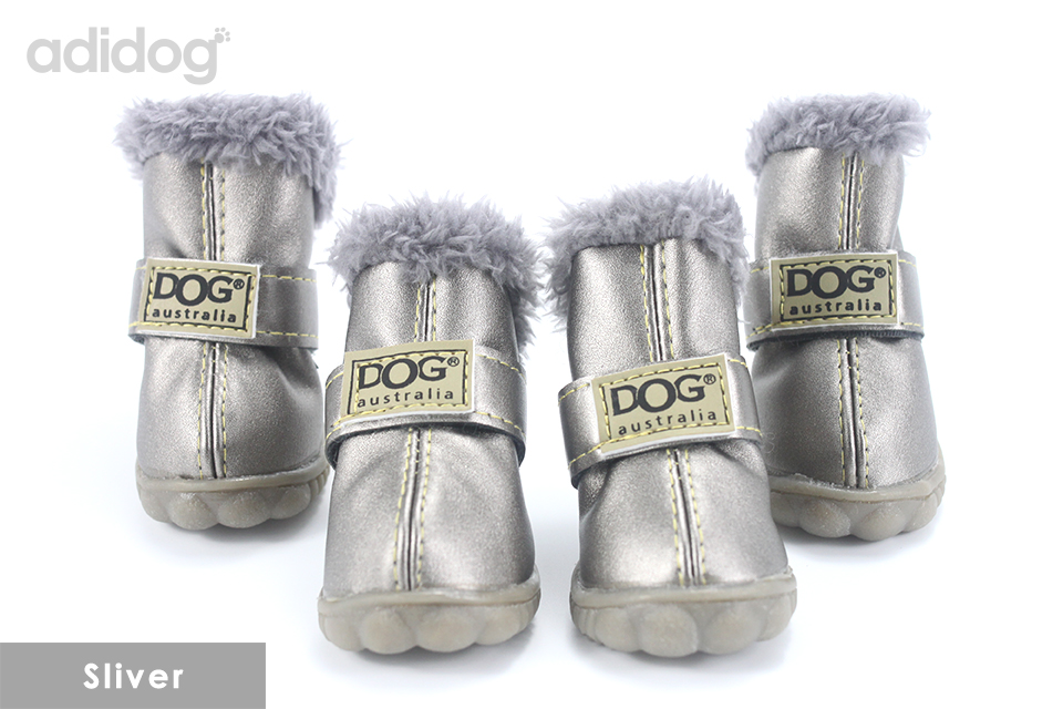 Pet Dog Shoes Winter Super Warm 4pcs set Dogs Boots Cotton Anti Slip XS 2XL Shoes for Small Pet Product ChiHuaHua Waterproof 401