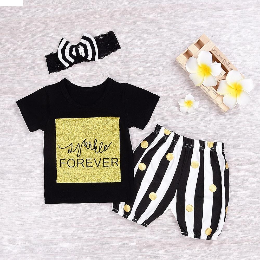 TELOTUNY children set children boys clothes Newborn Infant Baby Letter Print Short Sleeve T-shirt + Pants baby nov28