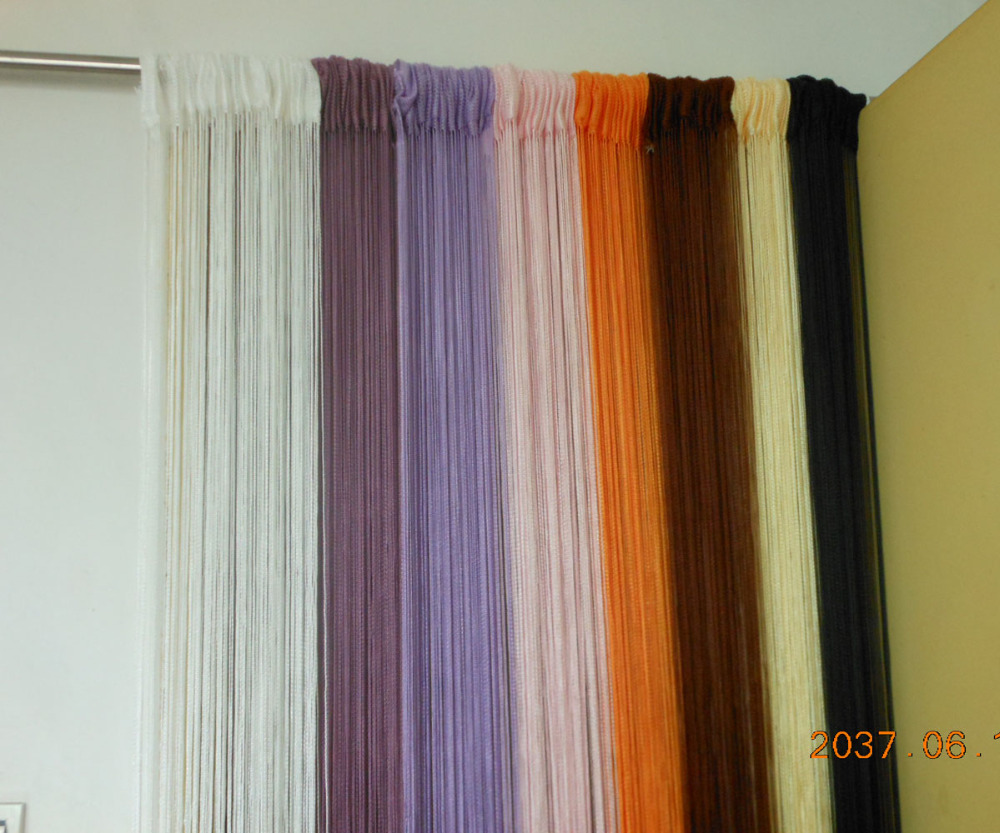 CN/_ 3mx3m String Curtain Patio Net Fringe for Door Fly Screen Windows Divider