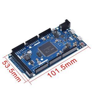 Image 2 - 公式互換性によるR3ボードSAM3X8E 32 ビットarm Cortex M3 / Mega2560 R3 duemilanove 2013 arduinoのボードとケーブル