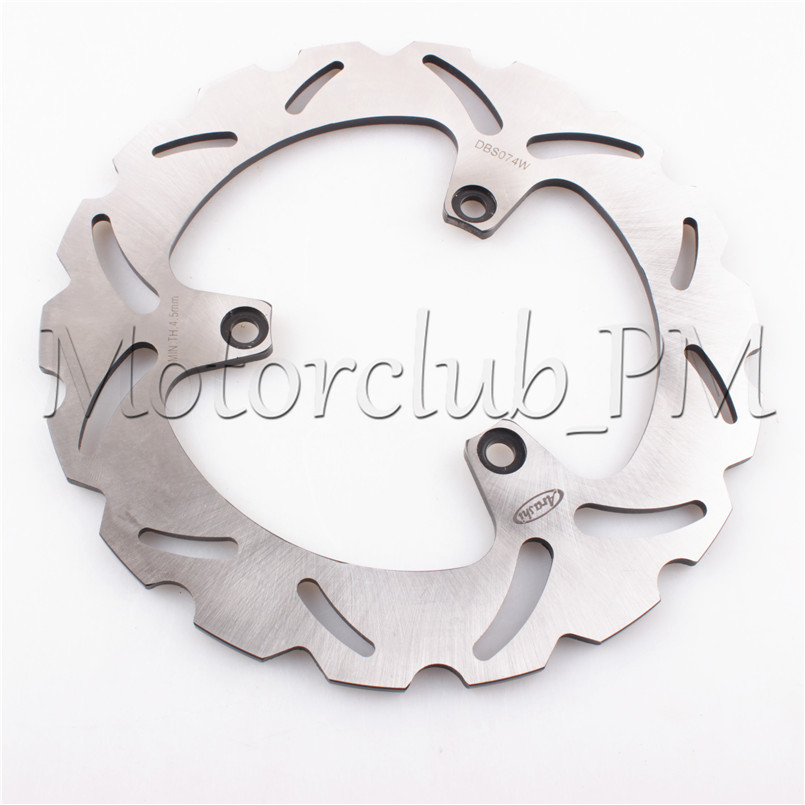 3 Holes Rear Brake Disc Rotor For Yamaha YP 250 Majesty 99-07 01 03 05 Jupiter 125 / 250 02-06 03 04 05 Motorcycle Bicycle Pads keoghs real adelin 260mm floating brake disc high quality for yamaha scooter cygnus modify
