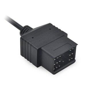 Image 3 - 2020สำหรับ Toyota 17 Pin ถึง16 Pin OBD OBD2อะแดปเตอร์อินเทอร์เฟซการวินิจฉัย17pin สายต่อขยาย OBDII ฟรีการจัดส่ง