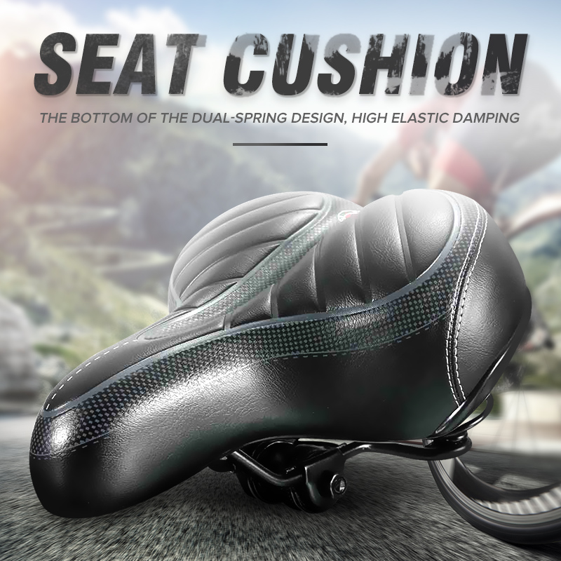 Cycling Mountain Bike Handlebar Tape Bicycle Seat Saddle Cushion Cover Pedals