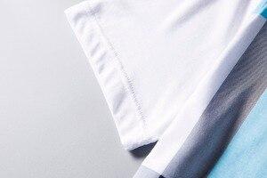 Image 5 - 2020 nuovo arrivo di abbigliamento di marca di polo shirt uomo in cotone a quadri a manica corta traspirante business casual homme camisa più il formato XXXL