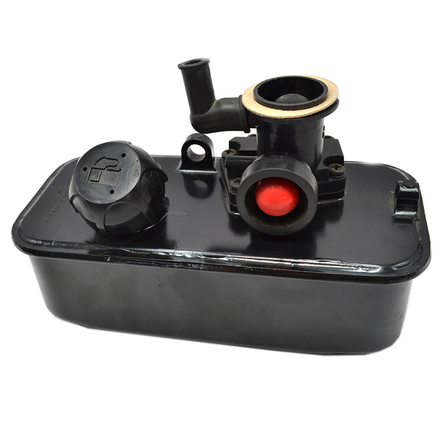 US $37 08 37% OFF|Lawn Mower Carburetor Fuel Gas Tank Fits Briggs&Stratton  494406 498809A 498809 AE0802 Plastic-in Lawn Mower from Tools on