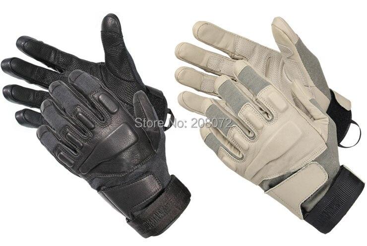 Couteau de prévention tactique en cuir de style équipement de chasse gants plein air en cuir gants tactiques hommes mitaines spéciales